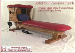 Walnut Stain, Aztec Red SmotherBench
