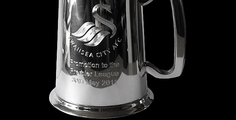 Swansea City AFC Promotion Pewter Tankard
