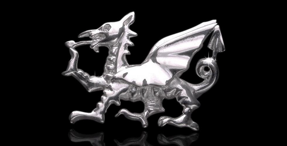 Welsh Design Welsh Dragon Brooch Stirling Silver LBRO060879