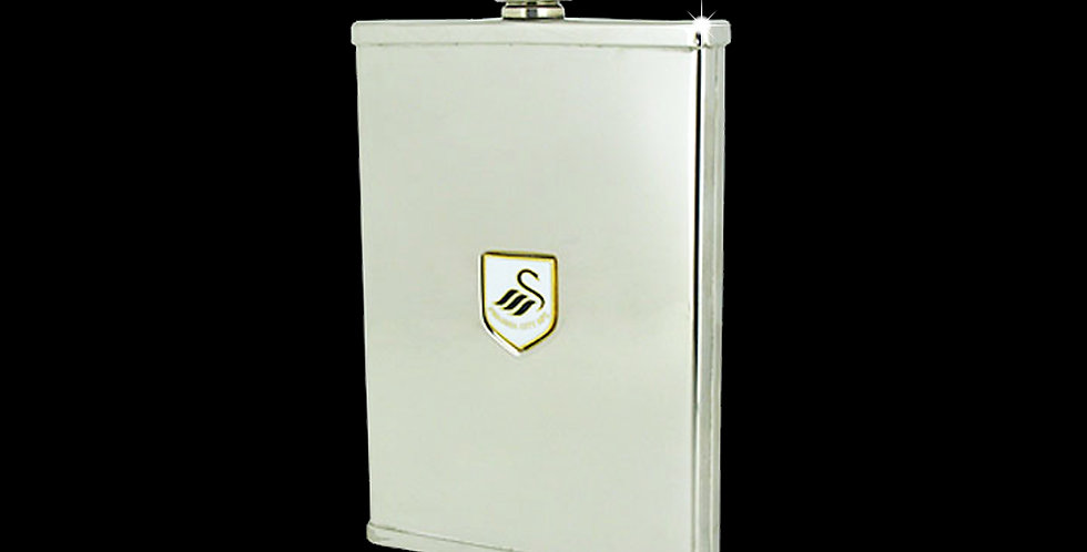 Swansea City AFC Stainless Steel  3oz Flask