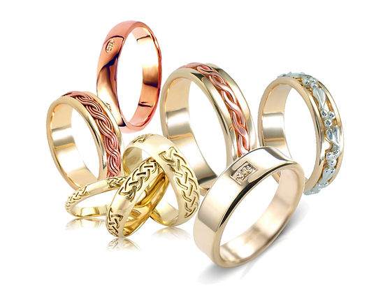 Welsh Gold wedding rings in differing styles for every taste