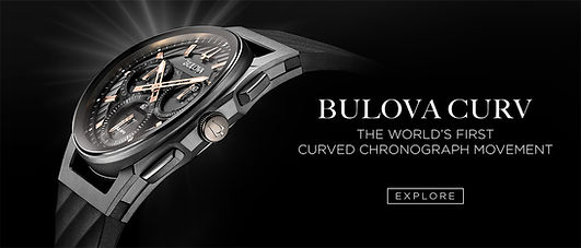 Bulova Curv watch for men