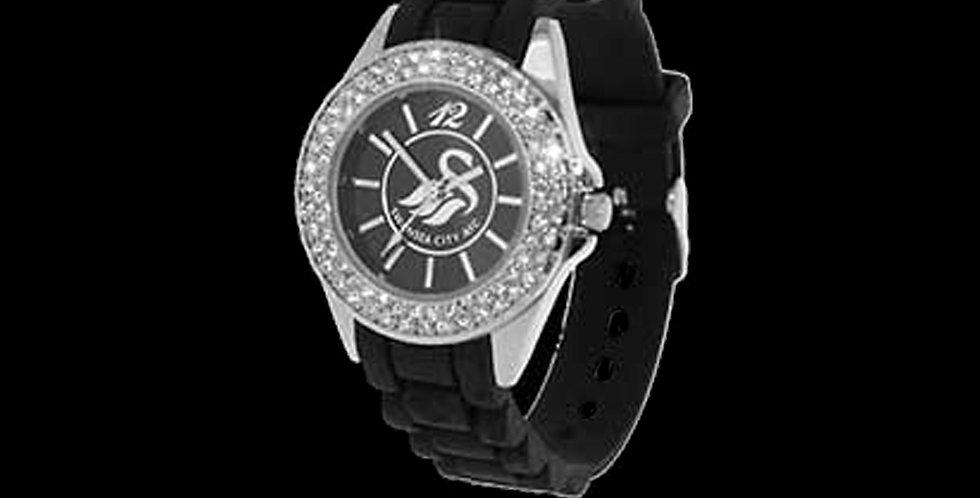 Swansea City AFC Ladies Sekonda Crystal Watch