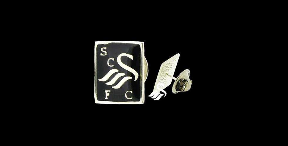 Swansea City AFC Black Enamel Tie Tack