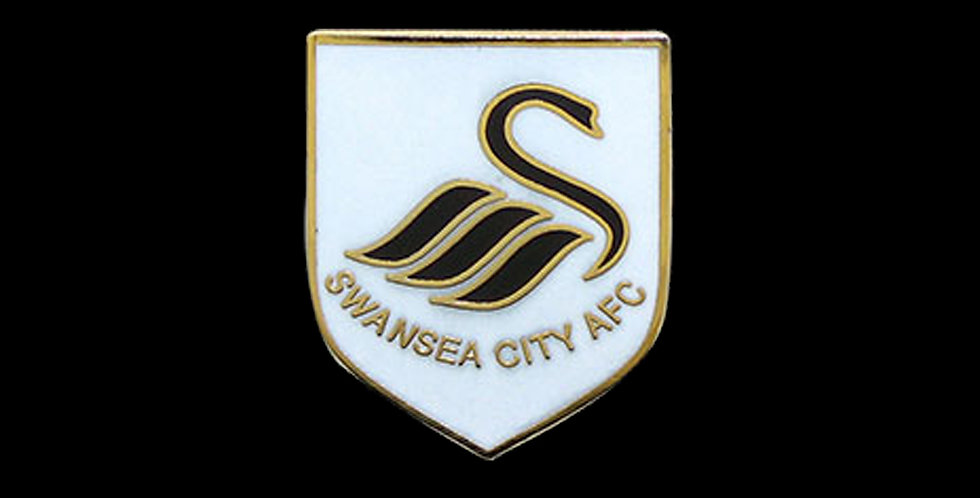 Swansea City AFC Enamel Badge / Brooch