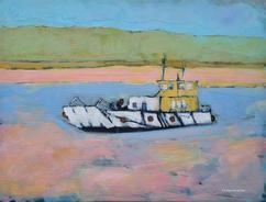 Rock Ferry 40cm x 30cm Acrylic on board £250