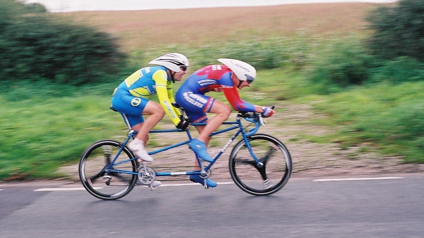 Phil Lawton with Scott Newbery