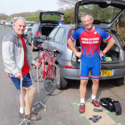 Vinny Fitzpatrick with George Brown