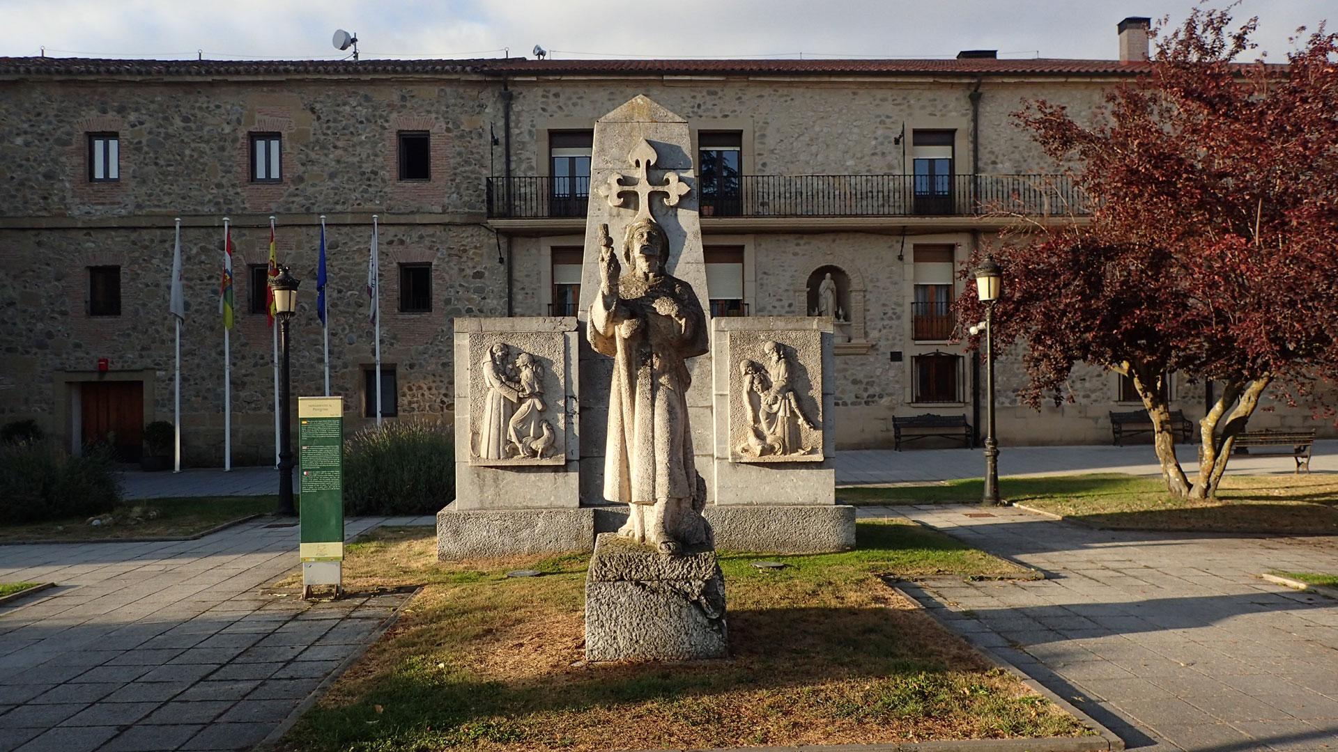 At Santa Domingo de la Calzada