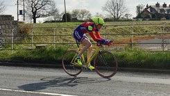 Graeme in the Withington Wheelers 10