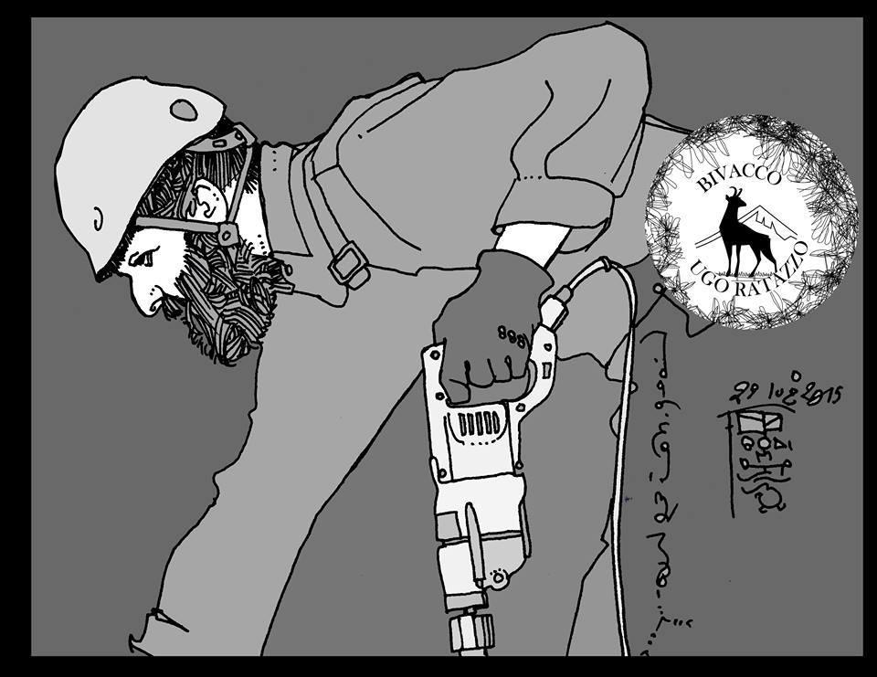 Walter, disegno di Fabio Bodi