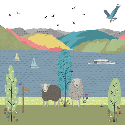 WINDERMERE CARD (pack of 6)