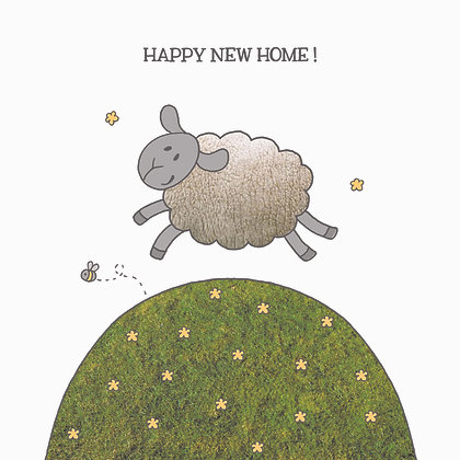 NEW HOME CARD (pack of 6)