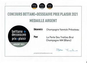 Concours Bettane et Desseauve Prix Plais