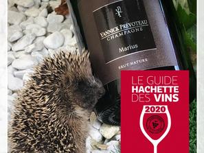 Cuvée Marius Brut Nature                           2 Etoiles au Guide Hachette 2020