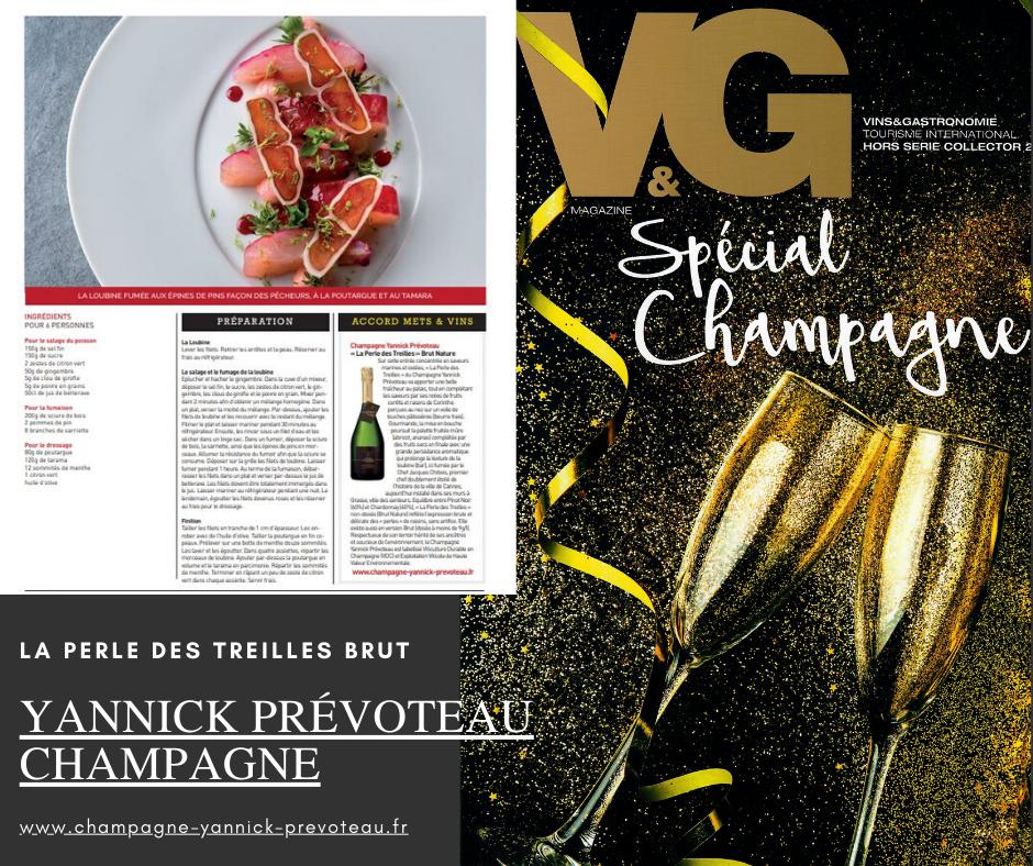 Vins & Gastronomie Spéciale Champagne