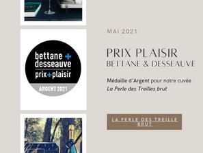 Concours Prix Plaisir Bettane & Desseauve 2021