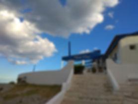 Las escaleras del Chiringuito de Garraf