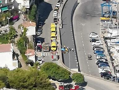 Accidente Avenida del Port Garraf