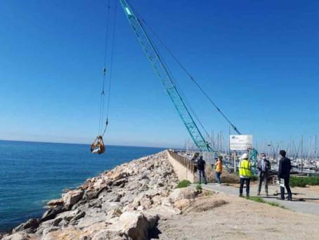 Finalizan las obras del puerto