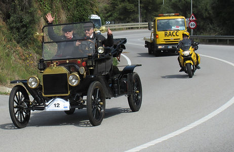 Ralley de coches Barcelona Sitges Garraf