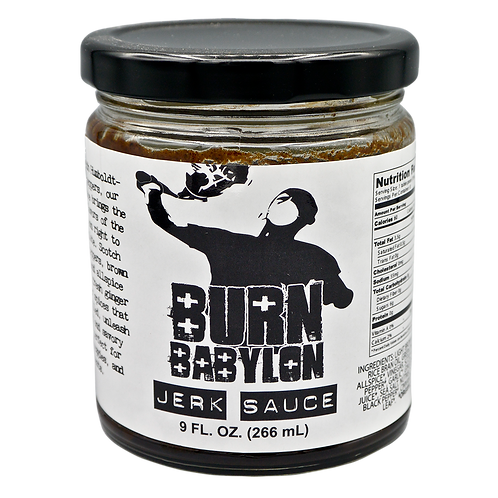 Burn Babylon Jerk Sauce (Mild)