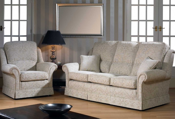 Steed Hamilton 3 Seater sofa & chair