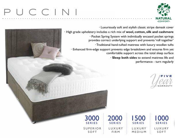 Puccini bed highgrove minerva