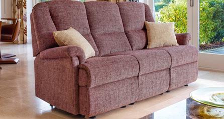 Milburn Small Fixed 3str sofa