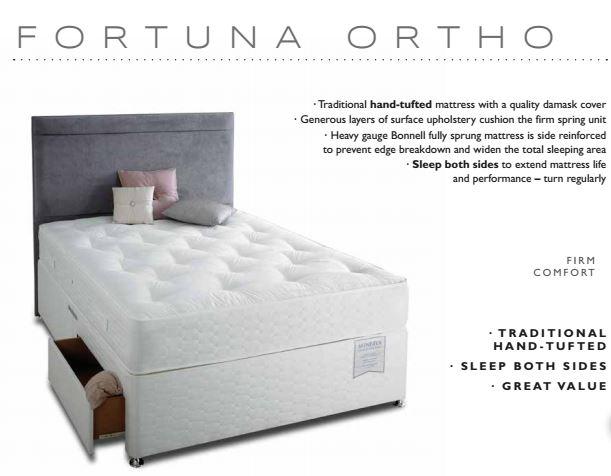 Fortuna Orpho bed highgrove minerva