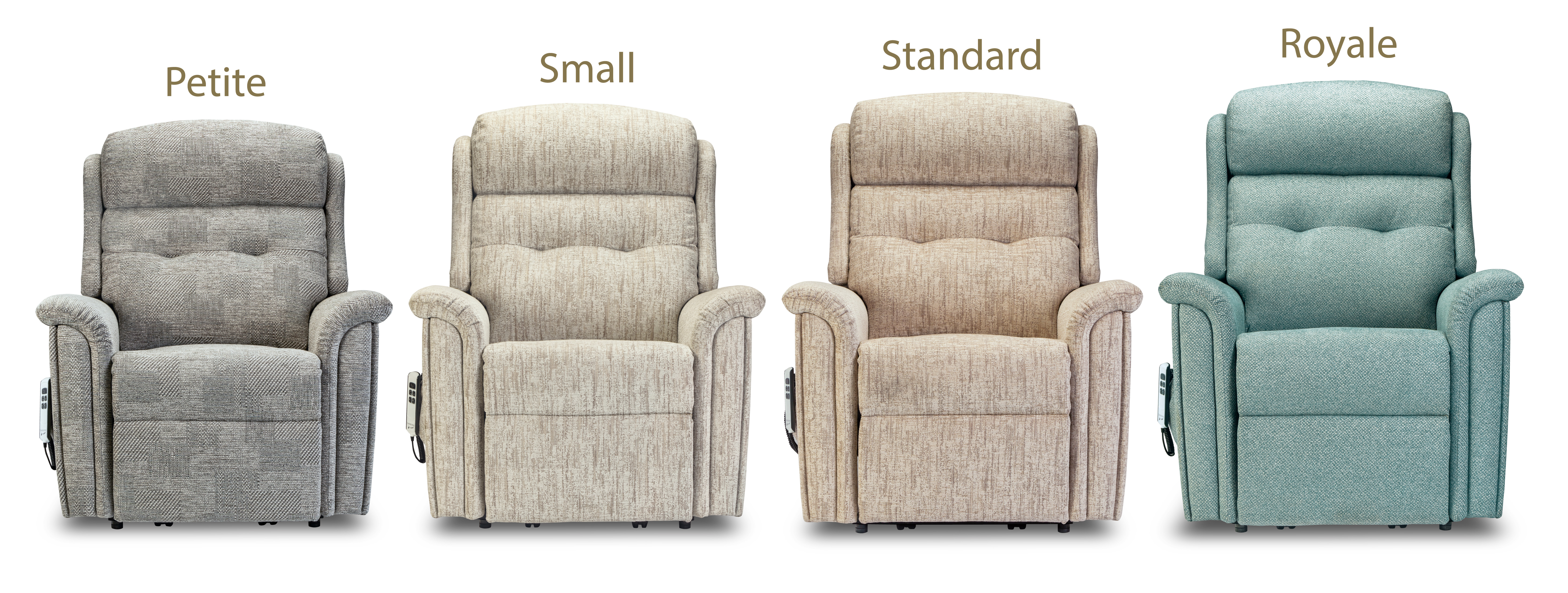 Roma Riser Recliners 4 Sizes pg25 (F)