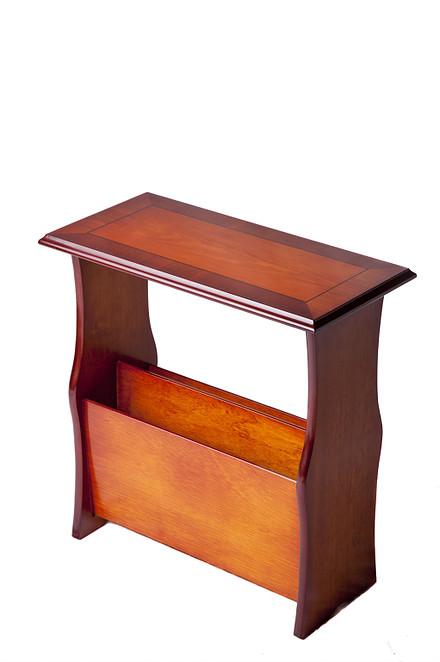 Yew Magazine Table