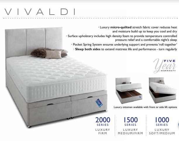 Vivaldi bed highgrove minerva