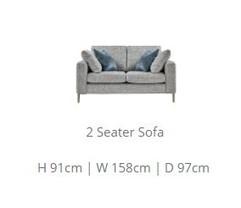 Osaka 2 Str Sofa