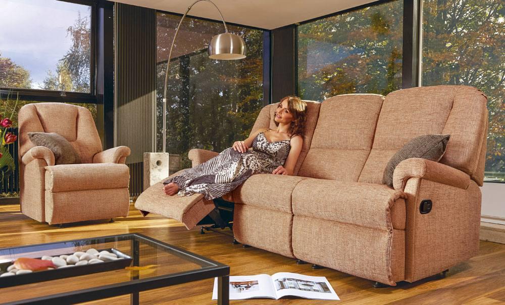 Milburn Small 3str Sofa