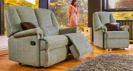 Milburn Standard Reclining 2str sofa