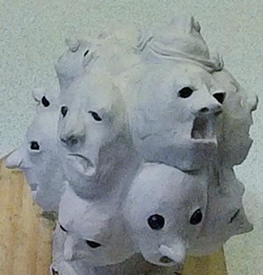 Karl & Niall's sculpture