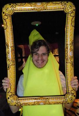 Banana in the frame