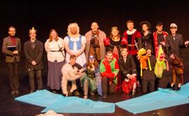 Our wonderful cast!