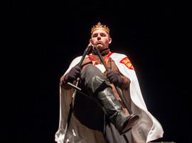 Prospero breaks his magical staff