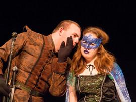 Prospero whispers his secret plans
