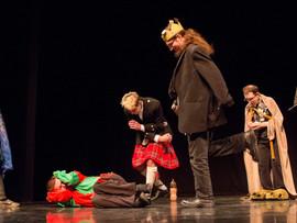 'Thou liest!' Ariel's trick causes chaos