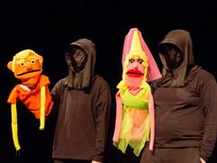 Flashback Prospero & Miranda puppets