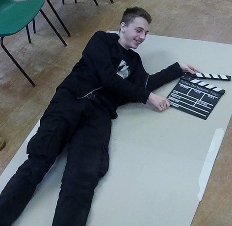 clapperboard outlines