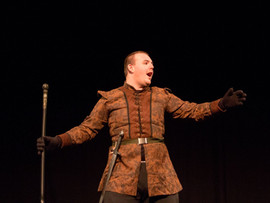 Prospero commands the stage