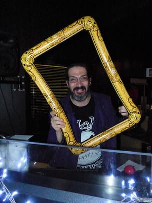 DJ in the frame