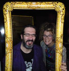 James & Zoe in da house!