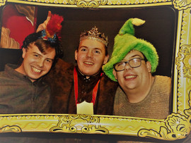 A festive trio