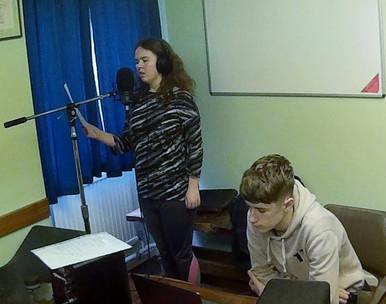 recording harmonies