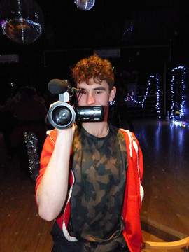 Josh on video duty